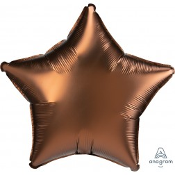 Standard Satin Luxe Cocoa Star