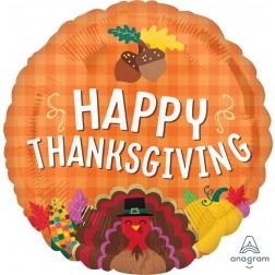Standard Happy Thanksgiving Harvest