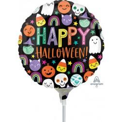 "9"" Halloween Happy Faces"