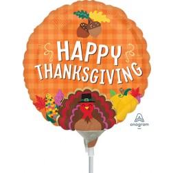 "4"" Happy Thanksgiving Harvest"