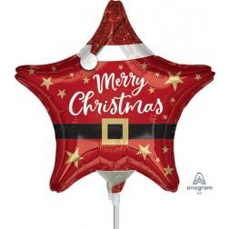 "9"" Santa Christmas Star"