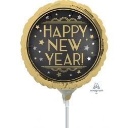 "9"" Vintage Satin New Year"