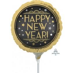 "4"" Vintage Satin New Year"