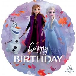 Standard Frozen 2 Happy Birthday