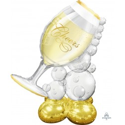 CI: Airloonz Large Bubbly Wine Glass