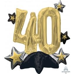 CI: Multi-Balloon Celebrate 40
