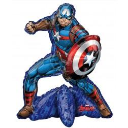 CI: Multi-Balloon Avengers Captain America