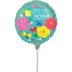 """4"""" Mom Pretty Flowers & Butterflies"""