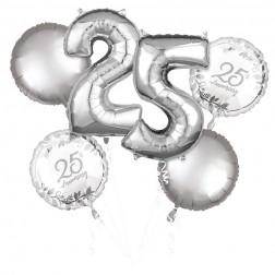 Bouquet Happy 25th Anniversary