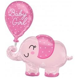 SuperShape Baby Girl Elephant
