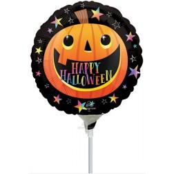 """4"""" Smiley Halloween Pumpkin"""