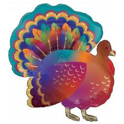SuperShape Glitter Turkey