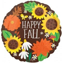 Standard Happy Fall Sunflowers