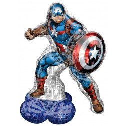 CI: AirLoonz Large Marvel Avengers Captain America