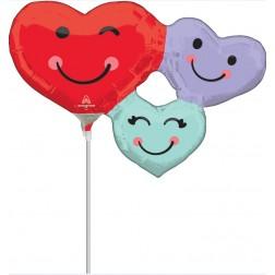 MiniShape Cute Heart Trio
