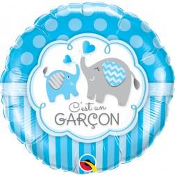 """18"""" C'est Un Garcon - Elephants"""