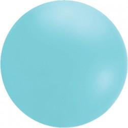 4' Icy Blue Chloroprene Cloudbuster Balloon