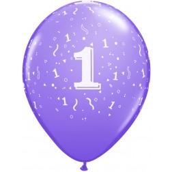 "11"" 1 Confetti-A-Round Trendy Assortment 50Ct"