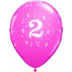 "11"" 2 Confetti-A-Round Trendy Assortment 50Ct"