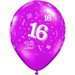 "11"" 16-A-Round Trendy Assortment 50Ct"