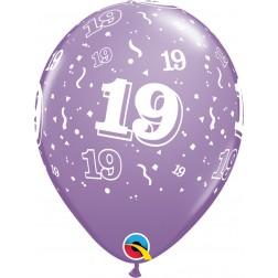 "11"" 19-A-Round Trendy Assortment 50Ct"