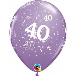 "11"" 40-A-Round Trendy Assortment 50Ct"