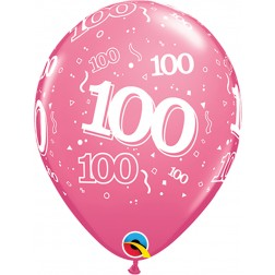 "11"" 100-A-Round Trendy Assortment 50Ct"
