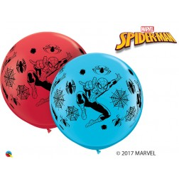3' Marvel's Spider-man Asst Red & Robin's Egg Blue (2ct)