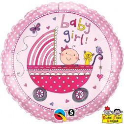"""18"""" Rachel Ellen - Baby Girl Stroller"""