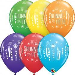 """11"""" Bonne Fete Chandelles (50ct)"""