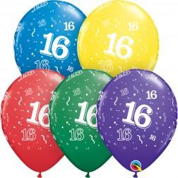 """11"""" 16-A-Round Asst. (50ct.)"""
