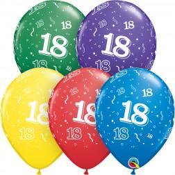 """11"""" 18-A-Round Asst. (50ct.)"""
