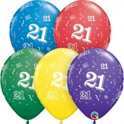 """11"""" 21-A-Round Asst. (50ct.)"""