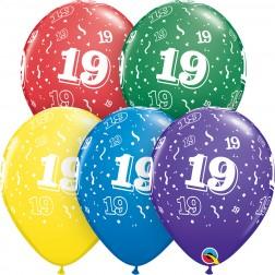 """11"""" 19-A-Round Asst. (50ct.)"""