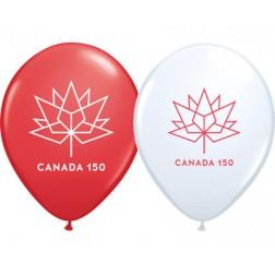 """11"""" Canada 150 Asst. (50ct.)"""