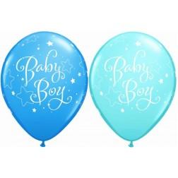 "11"" Baby Boy Stars (50ct.)"