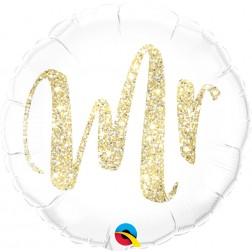 "18"" Mr. Glitter Gold"