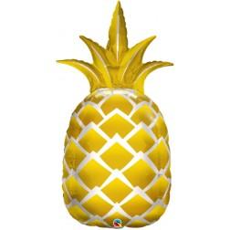 """44"""" Golden Pineapple Shape"""