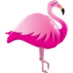 """46"""" Pink Flamingo (pkgd)"""