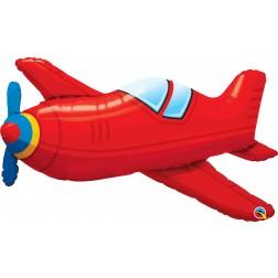 "36"" Red Vintage Airplane (pkgd)"