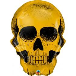 """36"""" Golden Skull (pkgd)"""