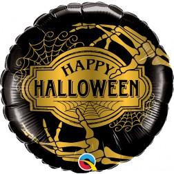 """18"""" Halloween Golden Skeleton (pkgd)"""