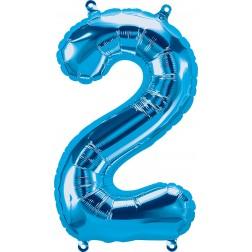 """34"""" Northstar  Number 2 Blue (pkgd)"""