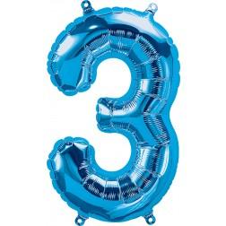"""34"""" Northstar  Number 3 Blue (pkgd)"""