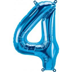 """34"""" Northstar  Number 4 Blue (pkgd)"""