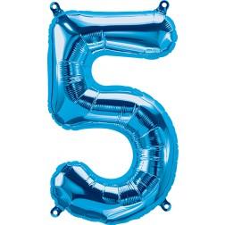 """34"""" Northstar  Number 5 Blue (pkgd)"""