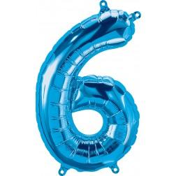 """34"""" Northstar  Number 6 Blue (pkgd)"""