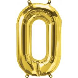 """34"""" Northstar  Number 0 Gold (pkgd)"""
