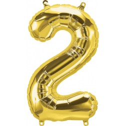 """34"""" Northstar  Number 2 Gold (pkgd)"""