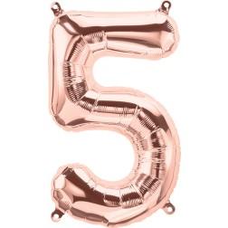 """34"""" Northstar  Number 5 Rose Gold (pkgd)"""